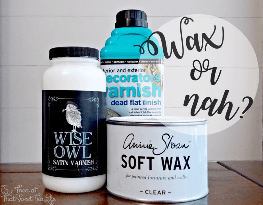 Is wax your best bet?