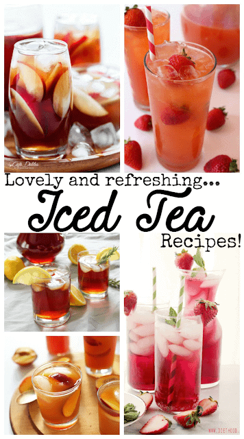 30 different tea recipes to find your fave!