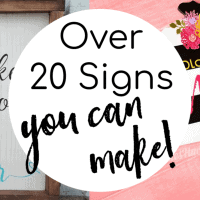 DIY Wood Signs You will LOVE! (And want to make!)