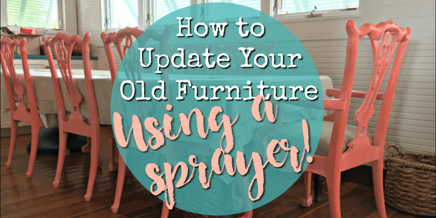Spraying Your Old Furniture: Its Easier Than You Think! U2022 That Sweet Tea  Life