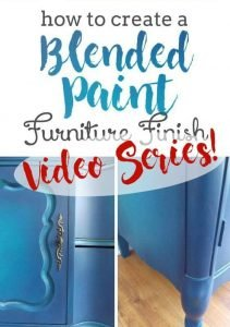 Furniture Painting Guide Blending