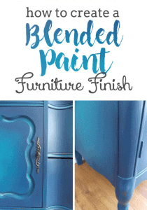 Furniture Painting Guide Blending Paint