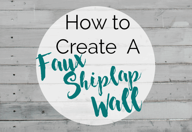 The Faux Shiplap Wall Hack that can save you Thousands!