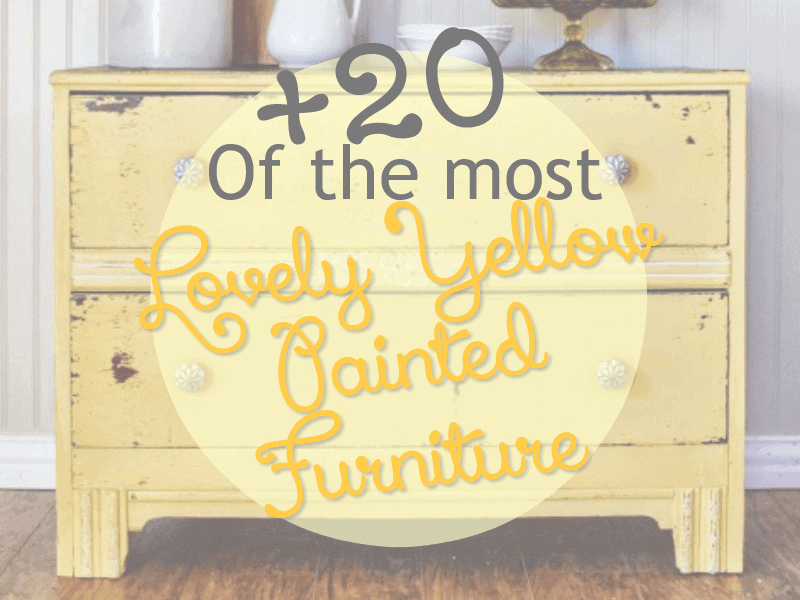 Yellow-painted-furniture