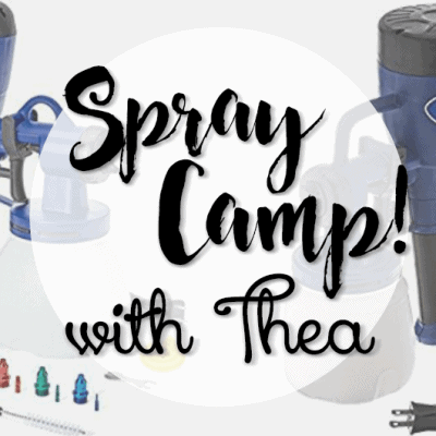 Learn How to Spray Furniture with Thea