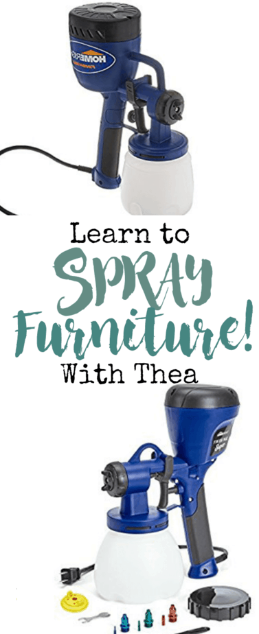 Learn how to set up and flawlessly apply a spray finish using your favorite water based paint!