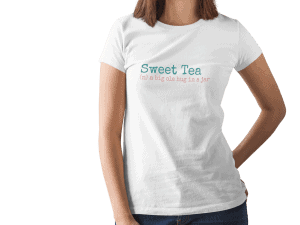 sweet tea tee shirt