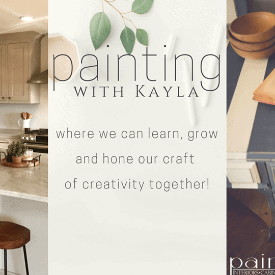 Learn to Paint with Kayla!