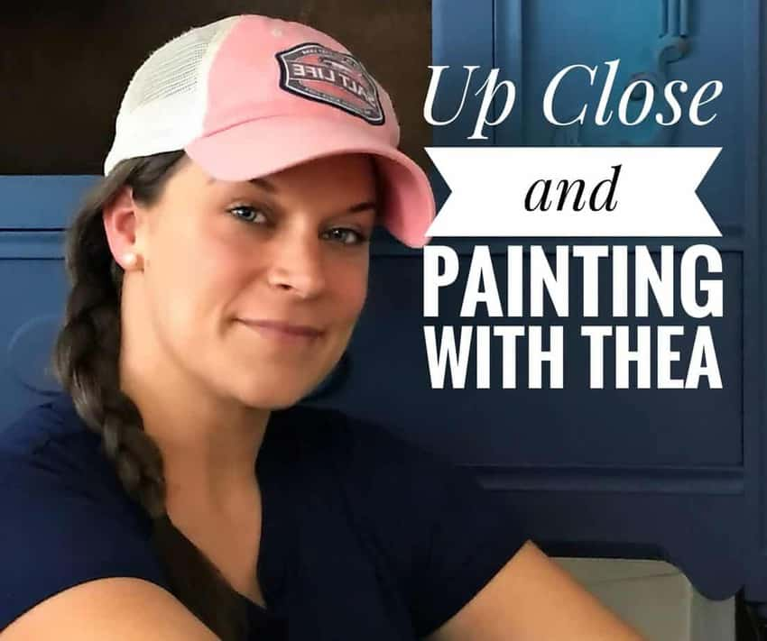 Up Close and Painting With Thea