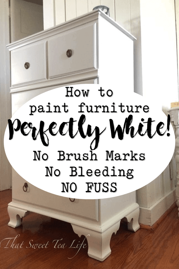 Painting White Furniture The Best No Fail Method That Sweet