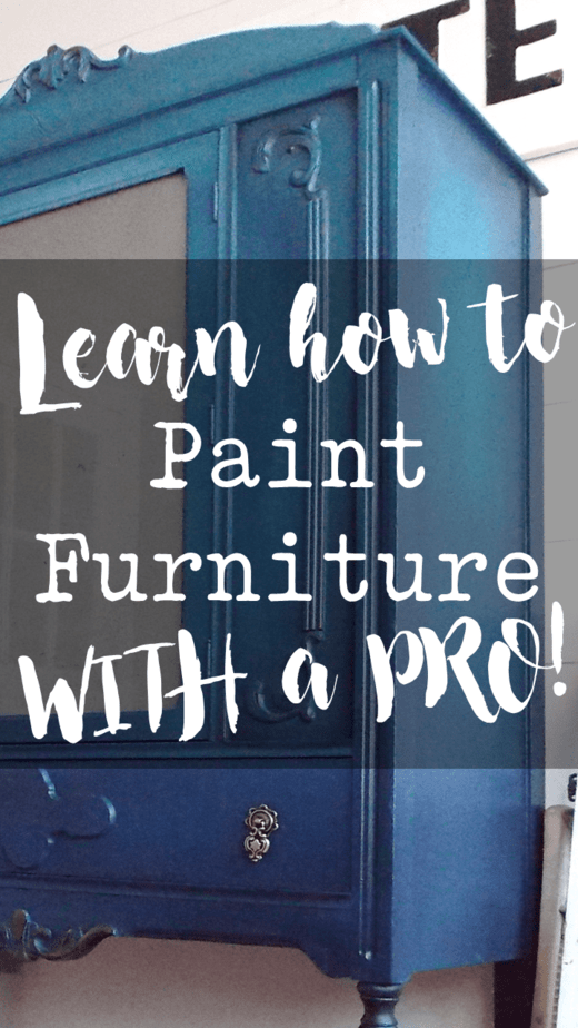 Learn how to paint furniture with me by your side!  We cover everything from blending and washing to using a sprayer for a flawless sleek look!  #paintedfurniture #layeringpaint #paintingfurniture #paintedfurniturelove #furniturepainting #furniture #homedecor #diyhomedecor #furnituremakeover #furniturerefinishing #furniturerestoration #diyfurniture #chalkpaint