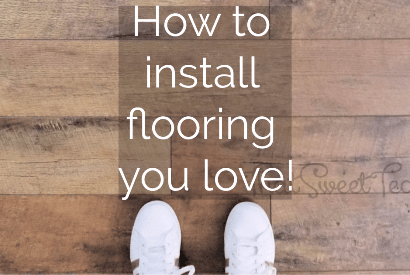 How to DIY Flooring that is Fabulous!