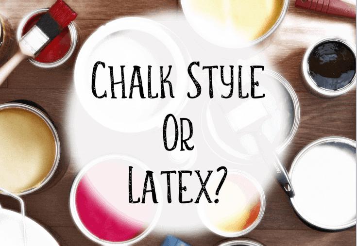 Why use Chalk Paint vs Regular Paint