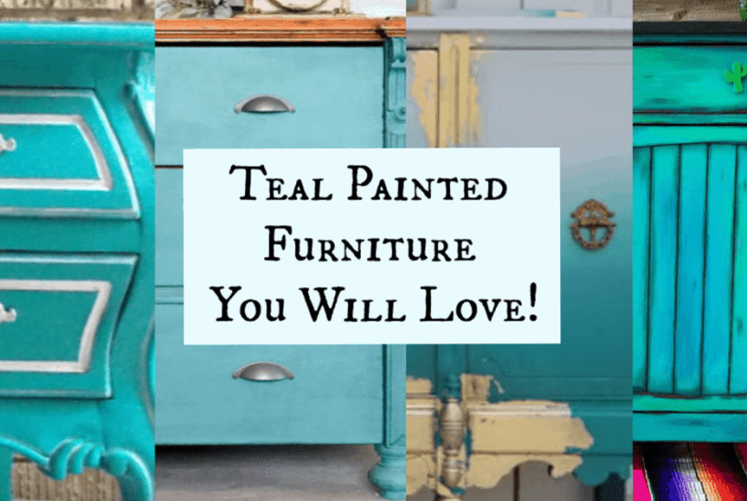 Teal Painted Furniture Collection