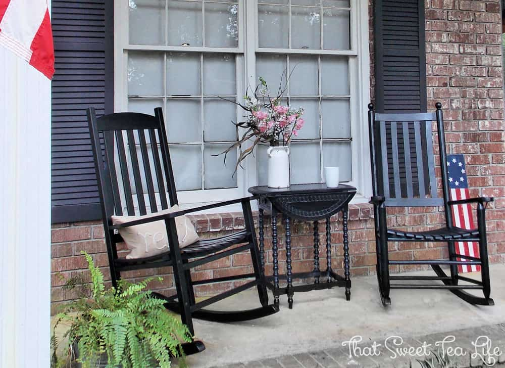 Front Porch Painted Chairs