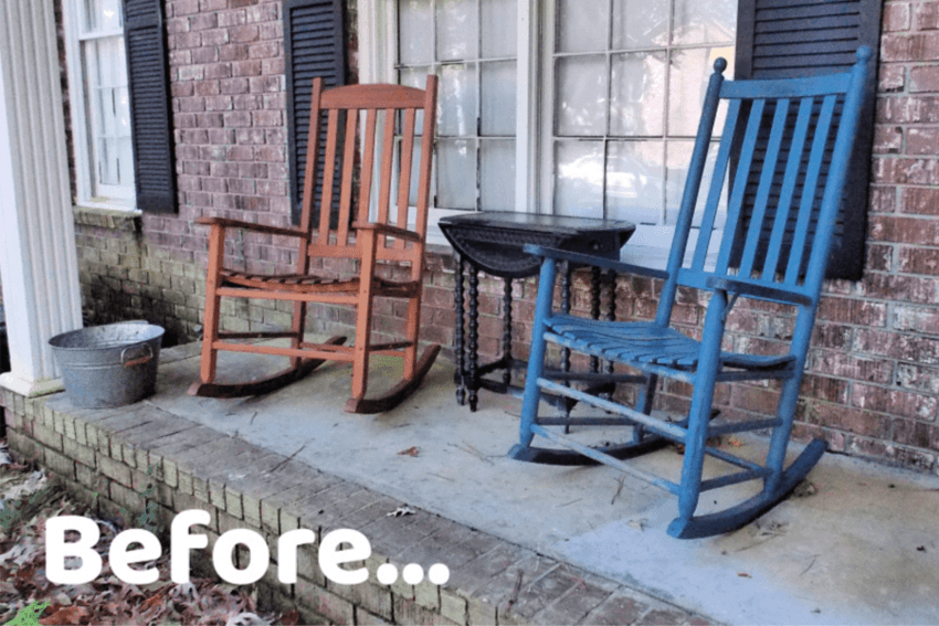 Painted Rocking Chair: A DIY You Can Do!