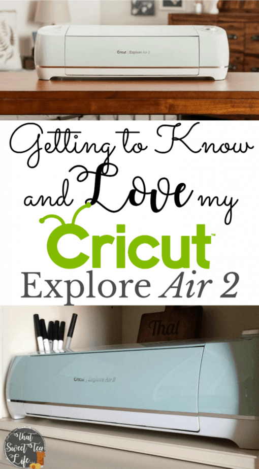 New cricut explore air 2, learning how to use it, cricutexplore cricutexploreair2 cricutmade cricutprojects howtocreatewithcricut