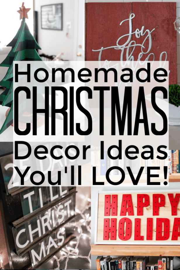 homemade christmas decorations pinterest