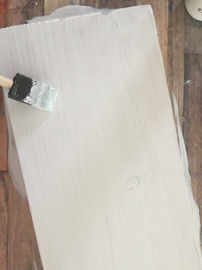 Painting DIY Wood Nativity sign