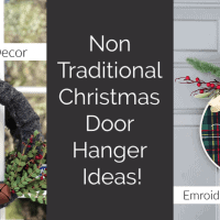 Christmas Door Ideas that are Easy to Create!