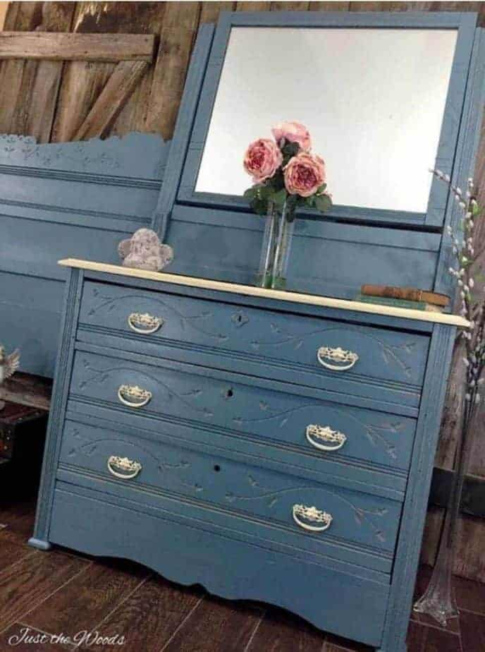 Best Blue Painted Furniture Pieces, Blue Painted Furniture Photos