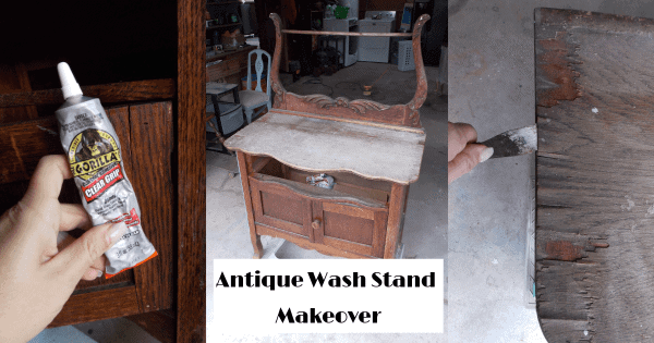 DIY Furniture Projects: My Antique Wash Stand