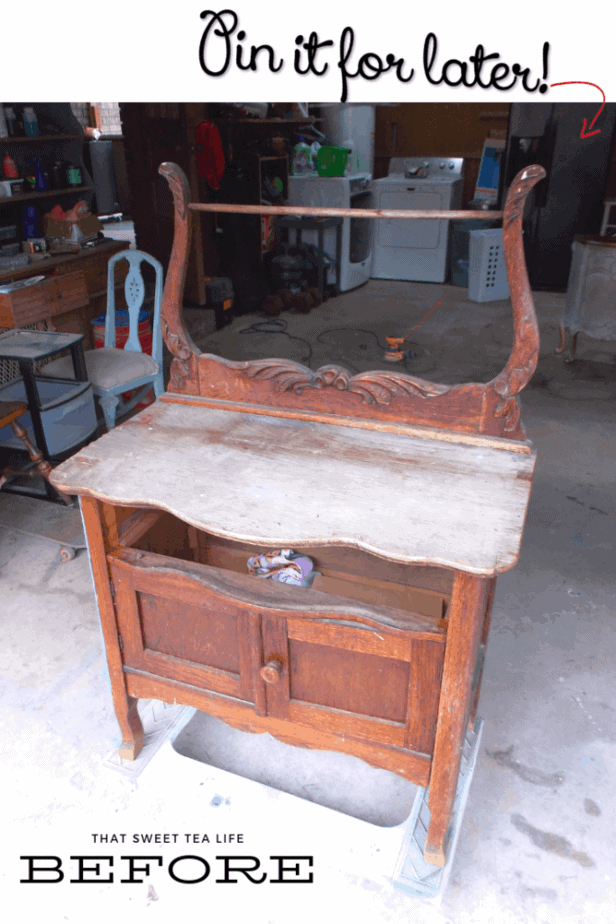 Diy Furniture Projects Wash Stand Makeover That Sweet Tea Life
