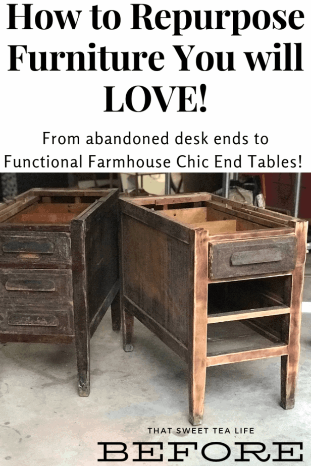 Repurposed Furniture Before
