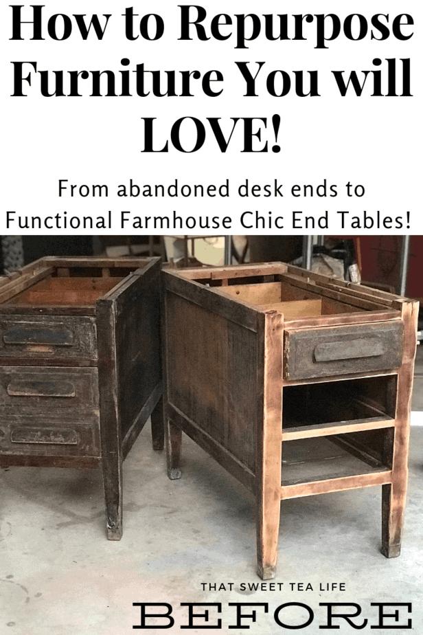Repurposed Furniture | Repurposed Desk