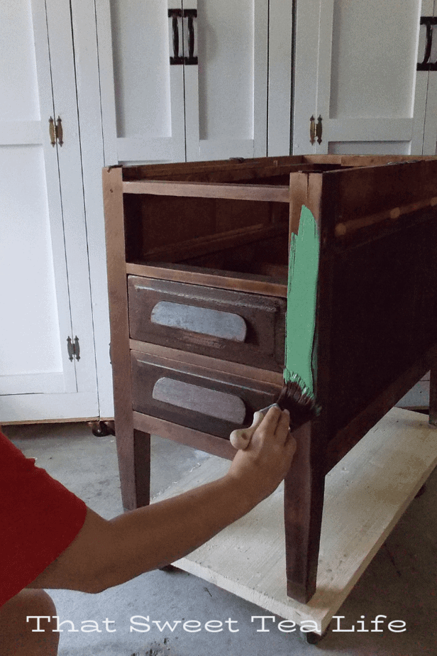 Why use chalk paint vs regular paint