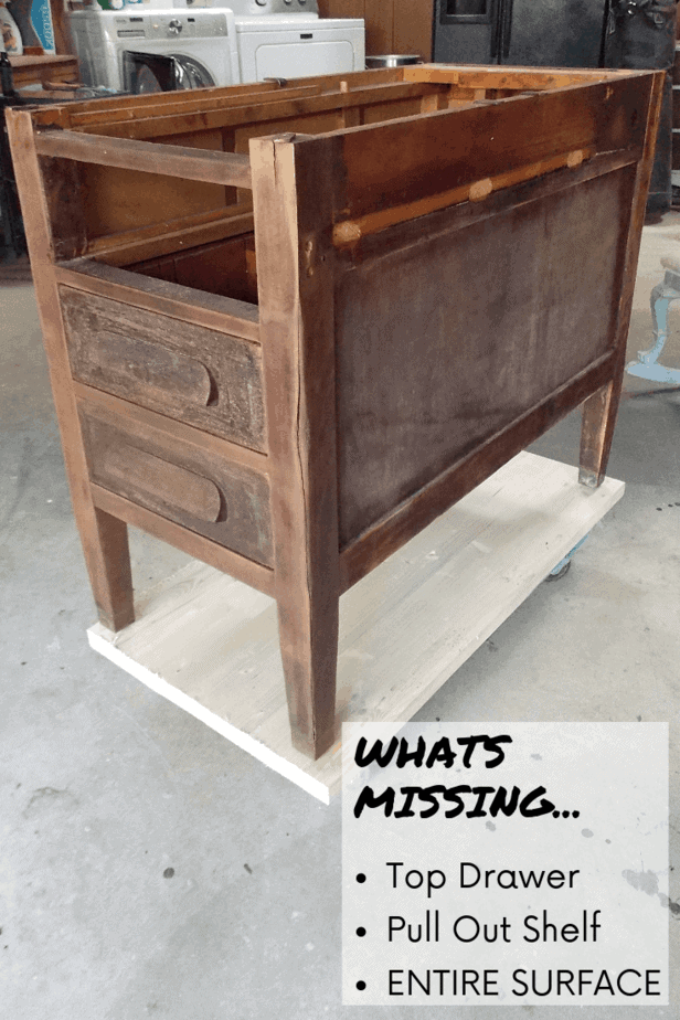Preparing old furniture to be repurposed | Repurposed End tables