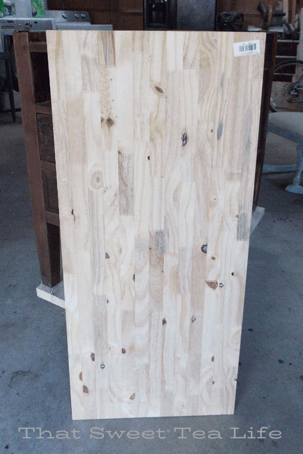 New Wood For repurposed Furniture