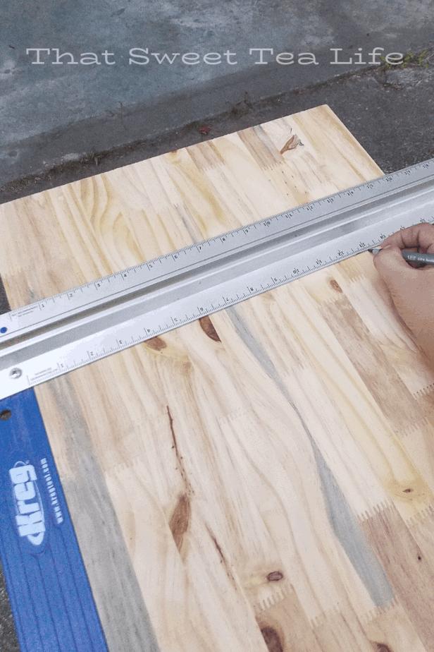 Repurposed Furniture Measuring
