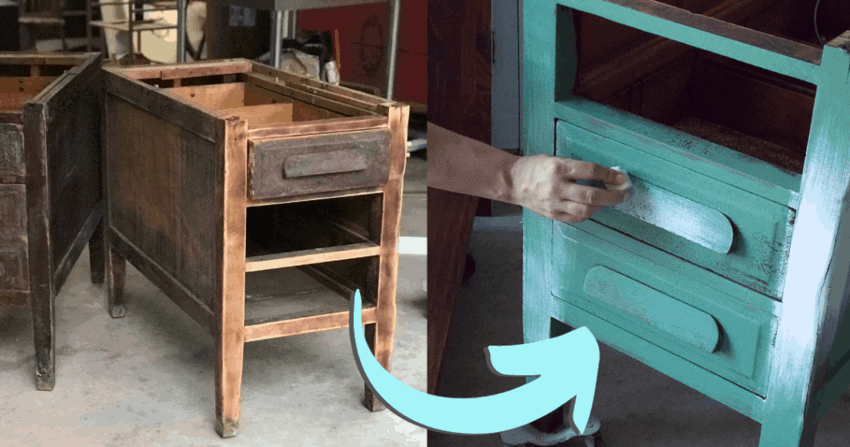 Repurposed Furniture Project