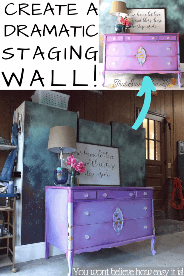 How to make a photo studio backdrop from Storage you probably have! (Or need!)