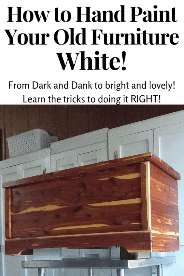 How to use White Furniture Paint