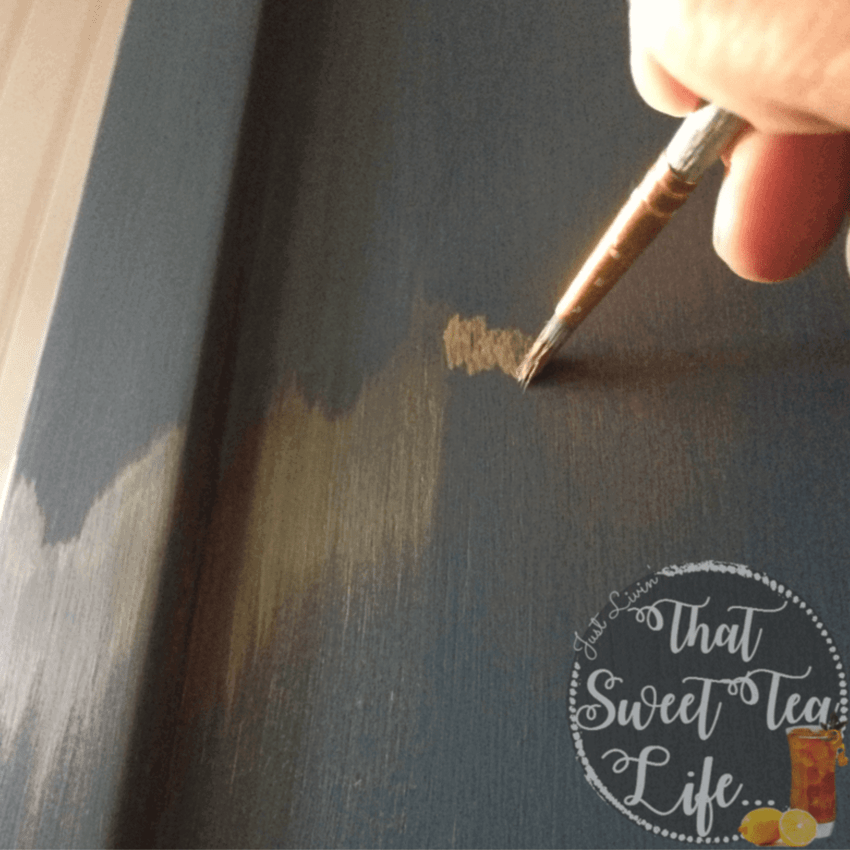 Rustic Glam: Wise Owl Paint with Gold