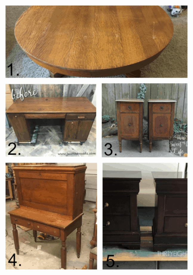 Refinished Furniture Projects