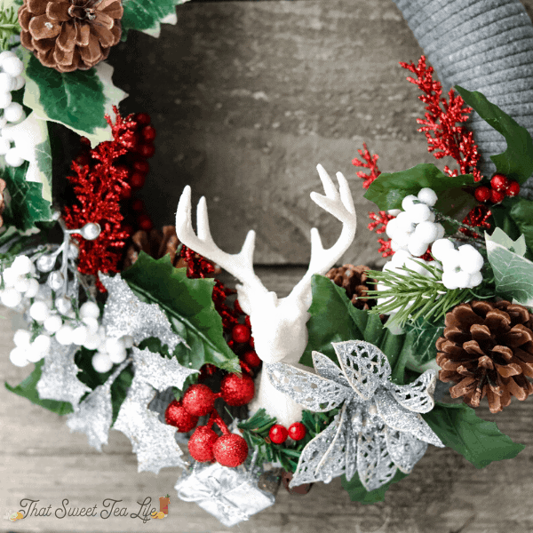 diy dollar store wreath