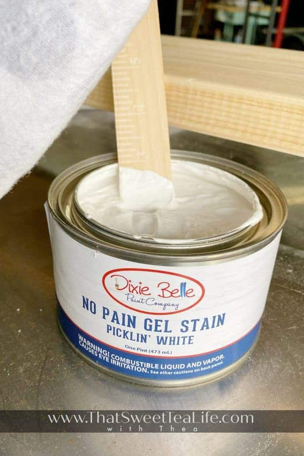 Picklin White - No Pain Gel Stain
