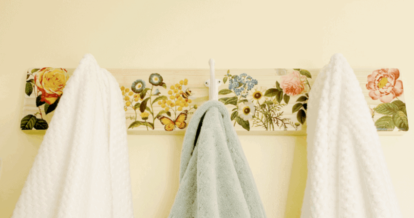 Farmhouse Towel Hanger