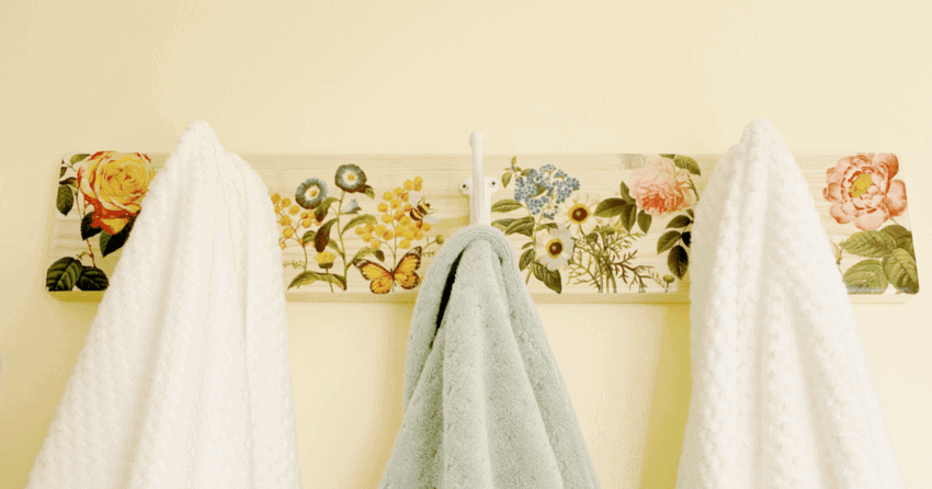 Farmhouse Towel Hanger