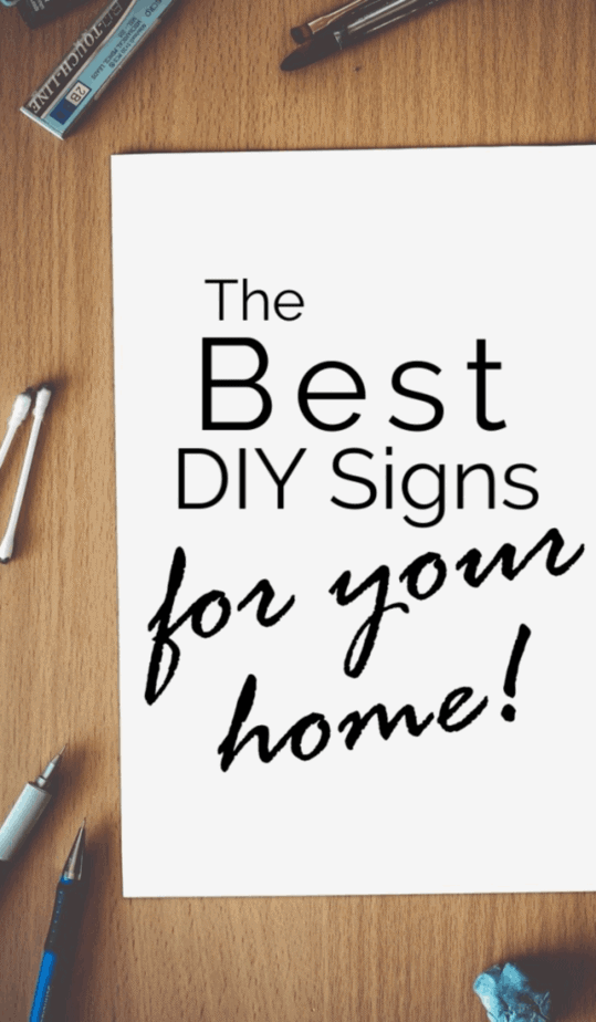 DIY Signs for Home