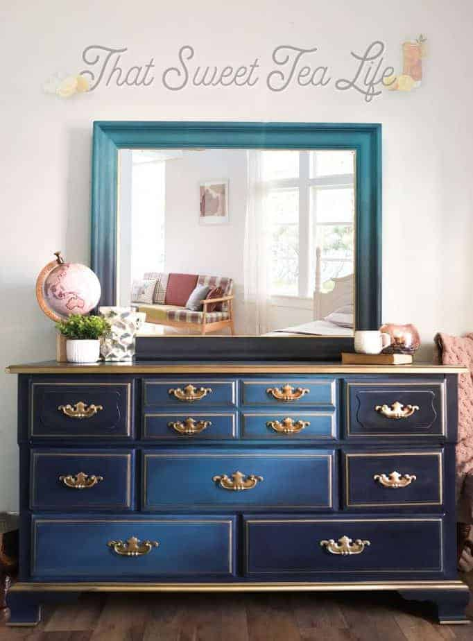 Blending Paint on Furniture