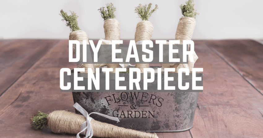 How to DIY Easter Decorations in 30 minutes!