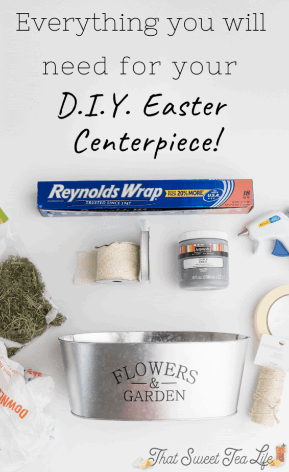 Supplies DIY Easter Decorations