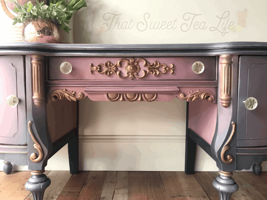 Appliques on Painted Furniture