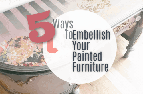 Painted Furniture Embellishments