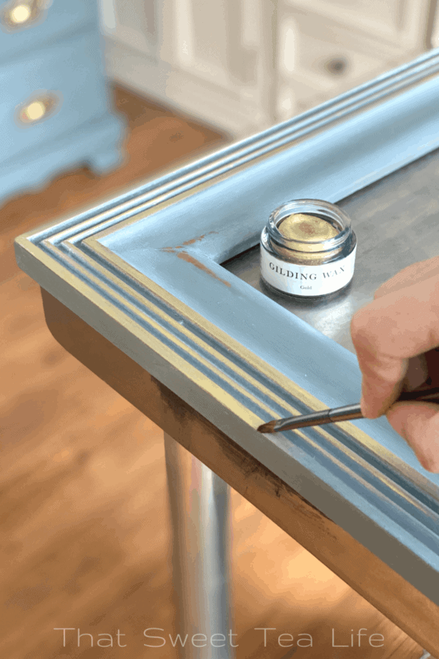 Jolie Paints Gold Gilding Wax