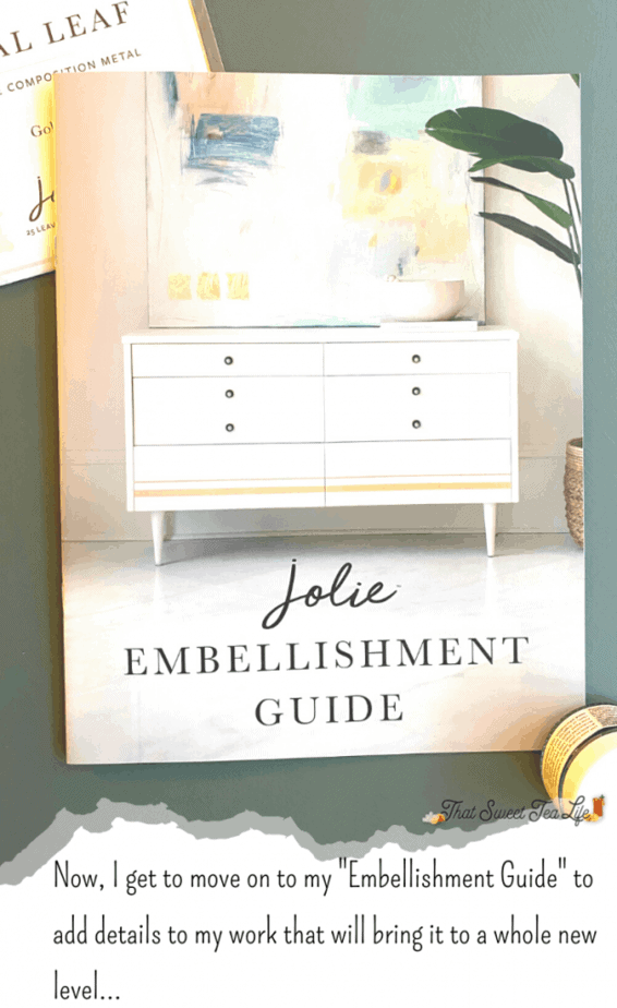Jolie Paint Embellishments Guide